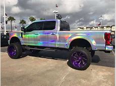 Texas dealership wraps Ford Super Duty in rainbows, now it