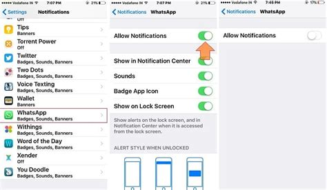 disable alert iphone turn whatsapp message notification chat for iphone