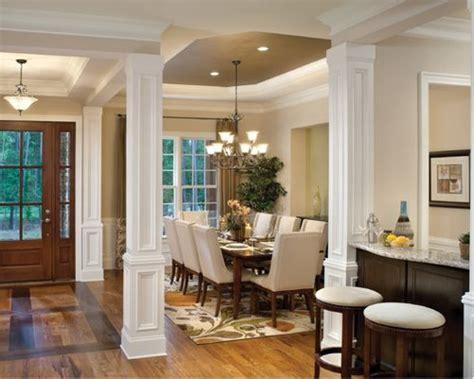 dining room columns houzz