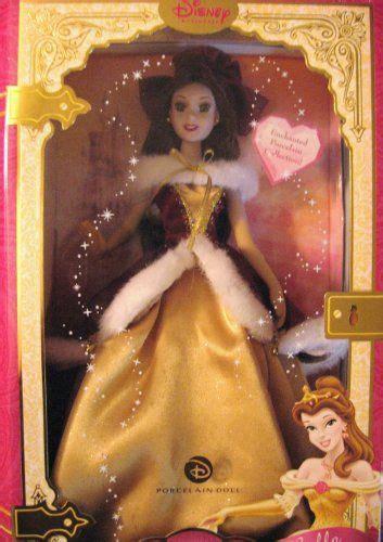 sleeping beauty porcelain doll princess belle