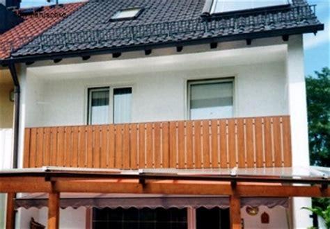 Balkonverkleidung Aus Kunststoff by Balkonbretter Und Balkongel 228 Nder Aus Kunststoff G 252 Nstig