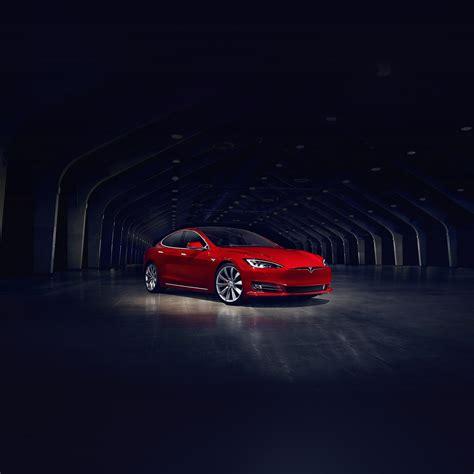 Aq53-tesla-model-red-car