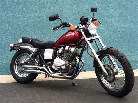 1985 Honda Rebel 250 Cmx250c Motorcycle