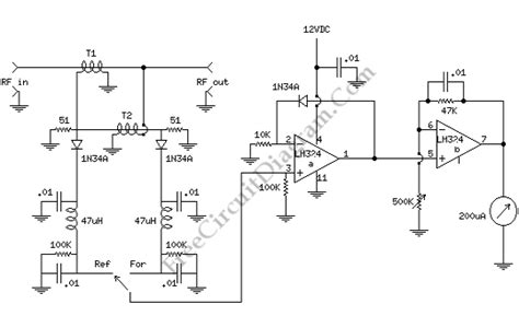 swr meter for qrp 1 watt level circuit wiring diagrams