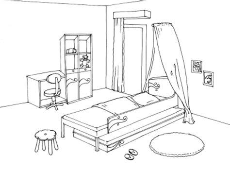 coloriage de chambre de fille chambre fille dessin design d 39 intérieur et idées de meubles