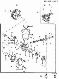 Geo Prizm Rotor  Steering Pump  Rotor  P  S Pump Stamped  3