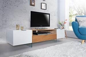 Tv Lowboard Glas : tv lowboard onyx 160cm weiss glas eiche 36201 4738 ~ Orissabook.com Haus und Dekorationen