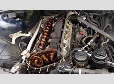 BMW m54 m52tu M56 cylinder head Removal YouTube