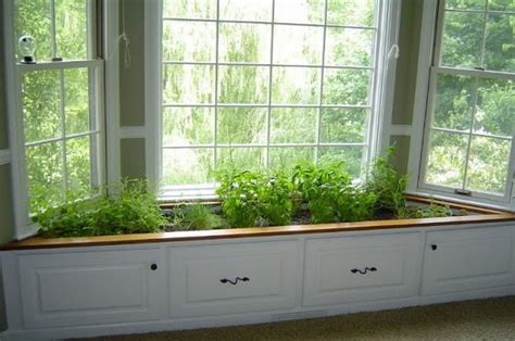 Indoor Window Planter by Container Herb Gardens And Other Herb Garden Ideas The