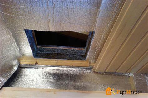 как самостоятельно утеплить потолок в деревянном доме или
