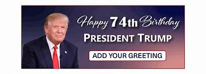 Trump Birthday President Banner Prayer Team Presidential