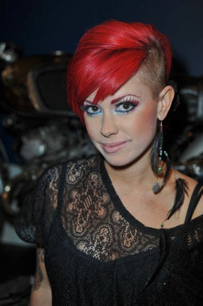 half shaved hairstyles for women womens hairstyles