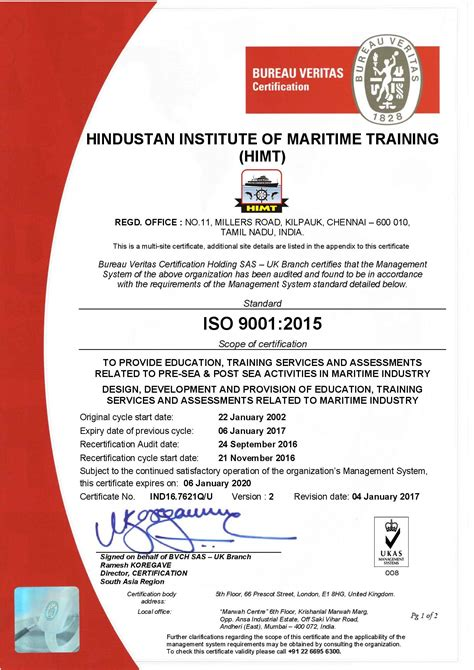bureau veritas courses leading marine engineering colleges in india himt