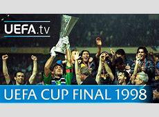 1998 UEFA Cup final highlights InterLazio YouTube
