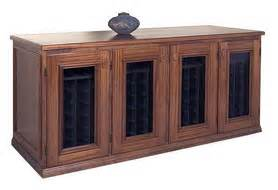 Wine Storage Credenzas - small wine racks cabinets and credenzas for small spaces