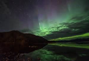 Northern Lights Alaska Mountain