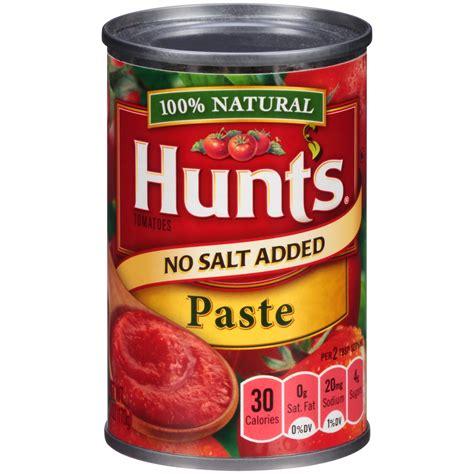 tomato paste hunt s no salt added tomato paste 6 oz can jet com