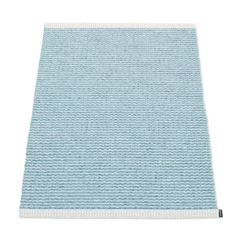 small doormat pappelina mono small mat blue hus hem