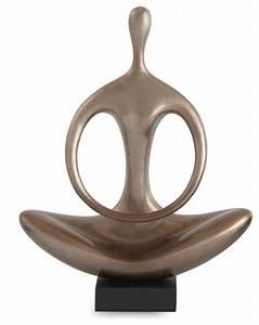 Meditation Sculpture - Contemporary - Decorative Objects