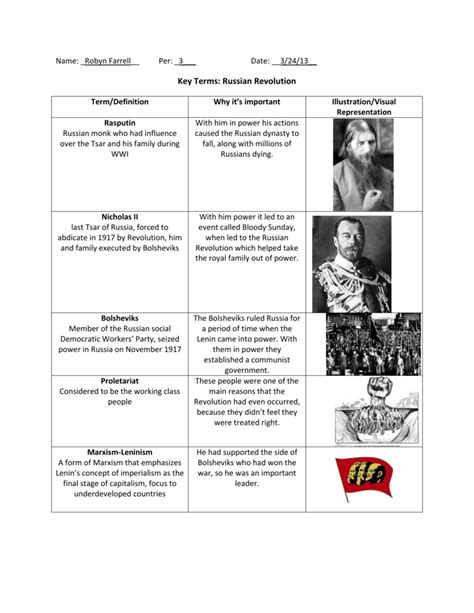 worksheet russian revolution worksheet grass fedjp