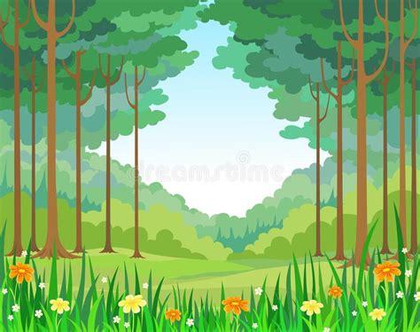 foto de Floresta do fundo do vetor ilustração do vetor Ilustração