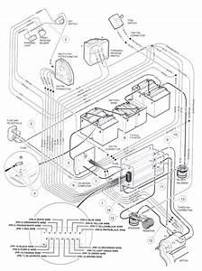 Club Car Wiring Diagram 48v Battery Charger   Club Car Wiring Diagram   Club Car Wiring Diagram