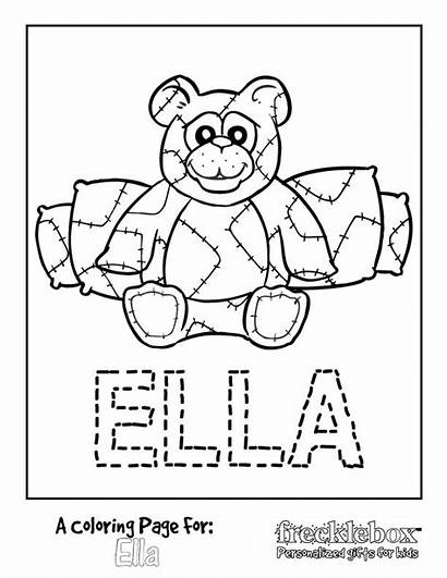 Coloring Pages Personalized Printable Getcolorings