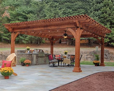 islands kitchen designs quality wooden pergolas green acres outdoor living