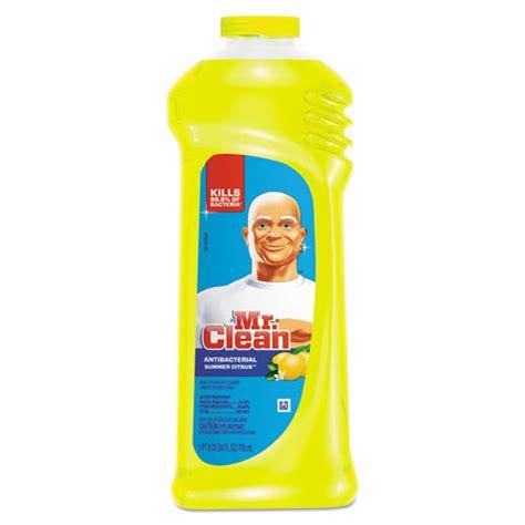 Mr Clean Bathroom Cleaner Msds by Mr Clean Antibacterial Cleaner 9 Bottles Pgc 82707ct