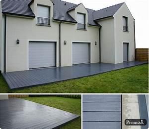 Recouvrir une terrasse en beton 4 terrasse sur pilotis for Recouvrir une terrasse en beton