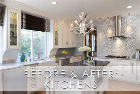 glamorous modern kitchen before and after robeson design san diego interior designers