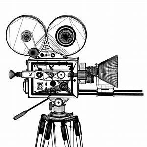 Pictures Of Old Movie Cameras - ClipArt Best