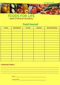 Sample Food Journal