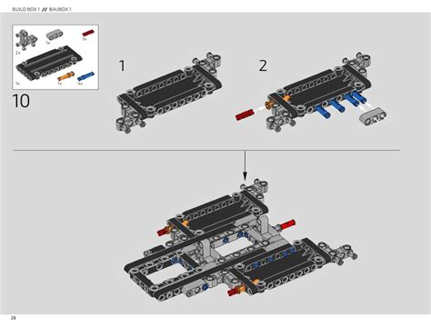 Instructions for lego 42083 bugatti chiron. LEGO 42083 Bugatti Chiron Instructions, Technic