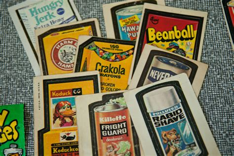 wacky packages series heygreenie sold