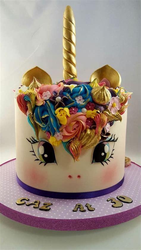 melhores ideias de bolos unicornio  pinterest