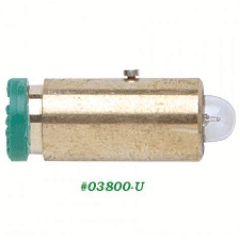 03800 u welch allyn panoptic ophthalmoscope bulb