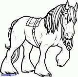 Horse Clydesdale Coloring Pages Shire Friesian Drawing Horses Printable King Getcolorings Sparad Fran Mer Clipartmag sketch template