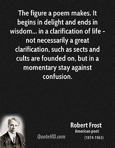 Quotes From Robert Frost Poems. QuotesGram