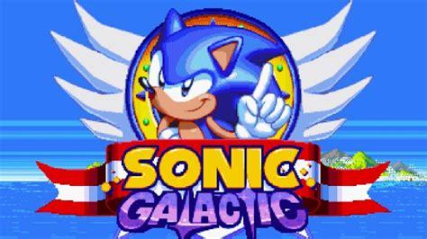 Sonic Galactic Alpha Demo Alpha Beta Gamer