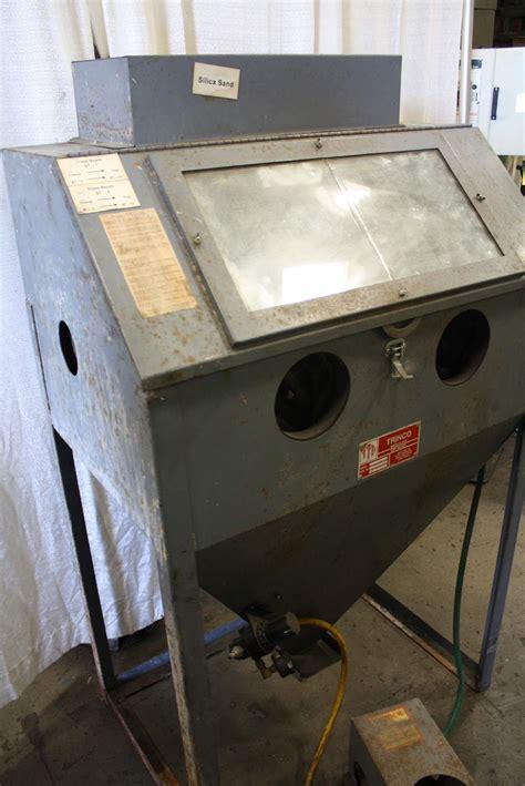 Trinco Blast Cabinet Manual by Trinco Blast Cabinet Stock 64298