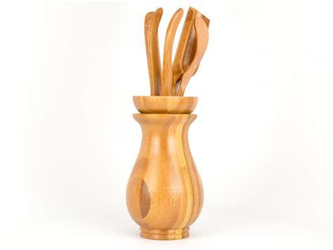 Bamboo Vase by Bamboo Tea Accessory Vase