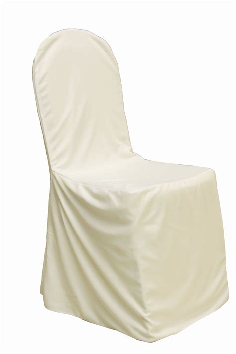 banquet ivory chair cover tesoro event rentals
