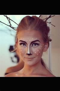 Karneval Gesicht Schminken : ber ideen zu bambi costume auf pinterest hirsch kost m kost me und halloween kost me ~ Frokenaadalensverden.com Haus und Dekorationen