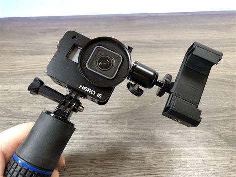 add diy monitor gopro hero vlog setup
