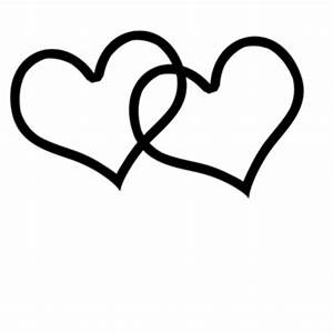 Heart black and white heart clipart black and white heart ...