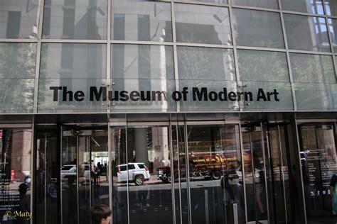 New York City  The Museum Of Modern Art (moma) (summer