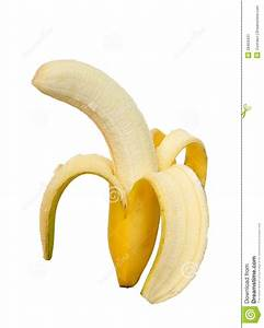 Peeled Banana Stock Image - Image: 28459431