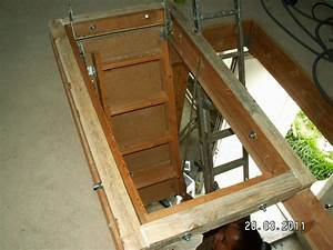 Escalier Escamotable Grenier : vid o montage escalier escamotable ~ Melissatoandfro.com Idées de Décoration