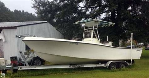 Mako Jon Boats by 1983 Used Mako 254 Center Console Fishing Boat For Sale